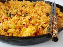 Riz frit épicé Image stock