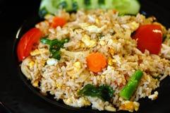 riz frit photographie stock