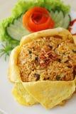 Riz frit asiatique Images libres de droits