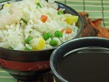 Riz frit chinois Photos libres de droits