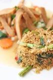 Riz frit délicieux Image libre de droits