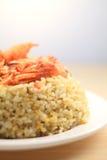 Riz frit de fruits de mer du Japon Photographie stock