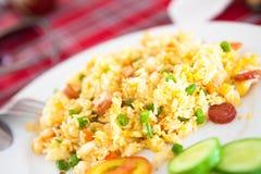 Riz frit de jambon vietnamien Photos libres de droits