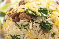 Riz frit de porc Photo stock