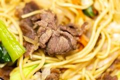 Riz frit de porc chinois dans le panier-repas photos libres de droits