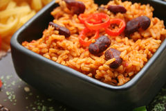 Riz mexicain Photo stock