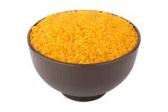 Riz orange Image libre de droits