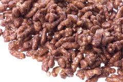 riz recouvert de chocolat de céréale Photographie stock