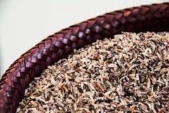 Riz, riz brun, riz rouge Image stock