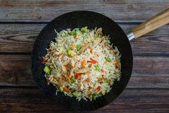 Riz traditionnel chinois images stock