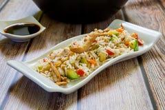 Riz traditionnel chinois photo stock
