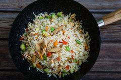 Riz traditionnel chinois photos stock