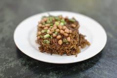 Riz visqueux délicieux à Singapour Images libres de droits