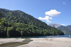 Riza See Stockbild