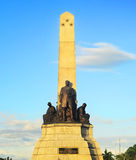 rizal monument Arkivbild