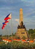 rizal monument arkivfoto