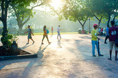 Rizal Park Stock Photography