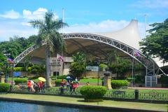 Rizal Park Open Air Auditorium in Manila, Philippines Royalty Free Stock Photos