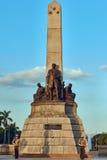 Rizalmonument Manilla Luzon Filippijnen Stock Foto's