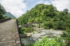 Rize, double bridge, çifte koprü. Turkey Royalty Free Stock Images