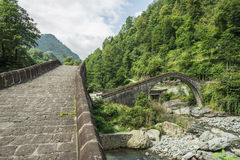 Rize, double bridge, çifte koprü Royalty Free Stock Images