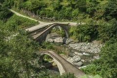 Rize, double bridge, çifte koprü. Turkey Royalty Free Stock Photos