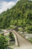 Rize, double bridge, çifte koprü Stock Image