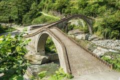 Rize, dubbele brug, çifte koprà ¼ Royalty-vrije Stock Foto's