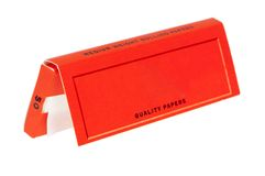 Rizla Rolling Papers Pack Stock Photo