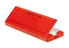 Rizla Rolling Papers Pack Stock Photography