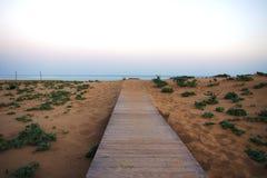 Rizo Karpas, Noordelijk Cyprus stock afbeeldingen