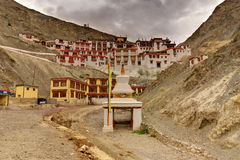 Rizong monastery, Ladakh, Jammu and Kashmir, India Stock Photography