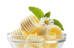 Rizos de la mantequilla Imagen de archivo libre de regalías