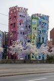 Rizzi-Haus i Braunschweig, Tyskland arkivfoto