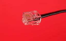 RJ-11 Cable Stock Image