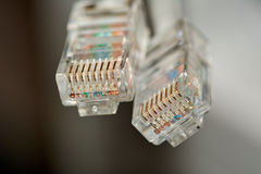 RJ-45 Photo stock
