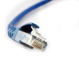 Rj-45 breedbandkabel royalty-vrije stock afbeeldingen