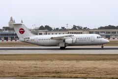 RJ100 atterrissant Images stock