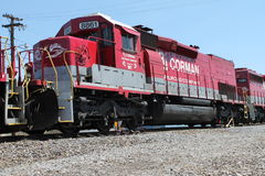 RJ Corman Railroad Locomotive 8861 Stock Photo