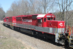 RJ Corman Railroad Locomotive 3478 Stock Images