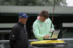 RJ Derksen, de aberto France 2006, golf o nacional fotos de stock royalty free