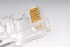 RJ45 plug Stock Photo