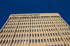 RJR-de Pleinbouw in winston-Salem, NC Stock Foto