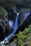 Rjukanfossen from above Stock Photography