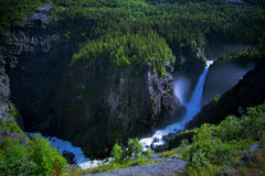Rjukanfossen from above Royalty Free Stock Photo