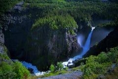 Rjukanfossen from above Royalty Free Stock Photo