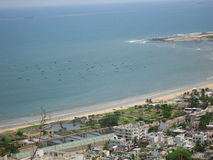 RK Beach, visakhapatnam, india. Very good view of RK beach, visakhapatnam Stock Images