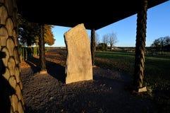 The Rök runestone Royalty Free Stock Images