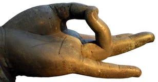 ręka jest buddha Zdjęcie Stock