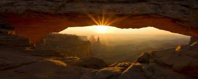 Ärke- panorama för Mesa Arkivbild